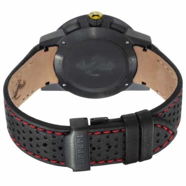Ferrari, Granturismo, Chronograph, Quartzuhr schwarz-rot_4991