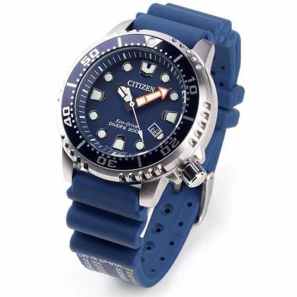 CITIZEN, Promaster Eco-Drive Diver, Solar Taucheruhr, blau_5042