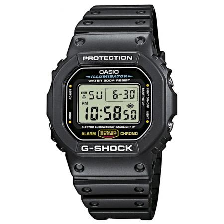 G-SHOCK, Retro, Timecatcher, LCD Digitaluhr, schwarz_5308