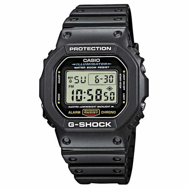 G-SHOCK Retro Timecatcher, LCD Digitaluhr, schwarz_5308