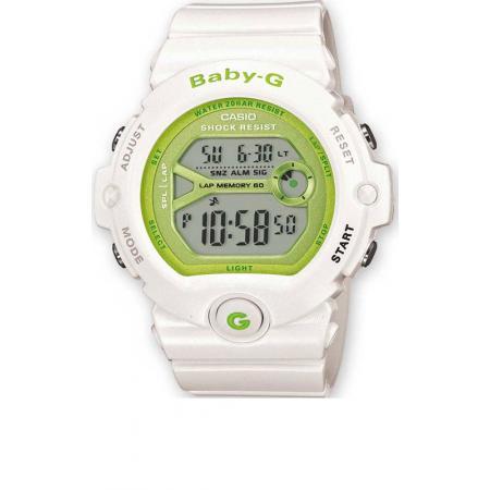 BABY-G Uhr von Casio, Nice Colors 3, weiss-grün