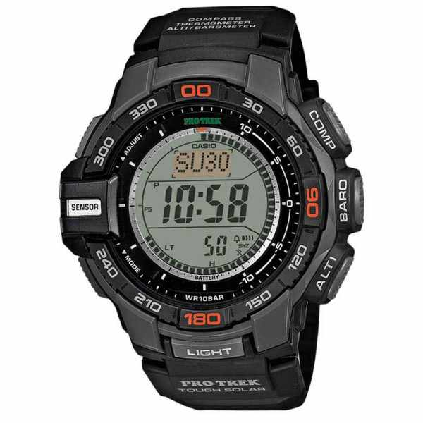 CASIO, Pro Trek, Solar, Alti-Baro-Thermo- Kompass_5335