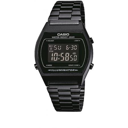 CASIO Retro LCD, Illuminator, Digitaluhr, schwarz_5345