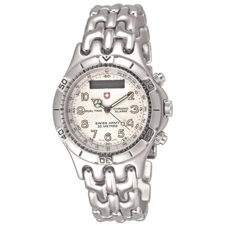 SWISS ARMY Spirit Digi-Analog Dualtime Chrono Alarm, grau