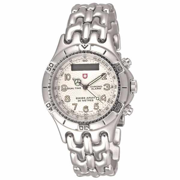 SWISS ARMY, Spirit Digi-Analog, Dualtime Chrono Alarm, grau_5402