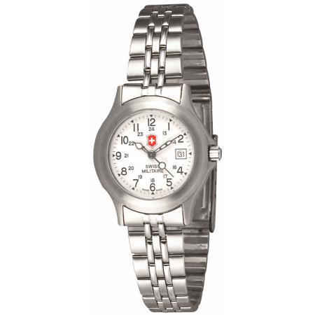 SWISS ARMY Urban Damenuhr Quartzuhr, weiss
