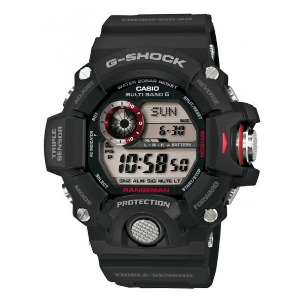 G-SHOCK, Rangeman, Solar Funkuhr, Kompass-Alti-Baro-Thermometer_5428