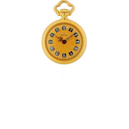 Vintage, De Luxe, Anhängeuhr, Handaufzug, Gold_5675