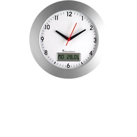 AMS 5522 Horloge Radio Funkwanduhr analogique HOZ couleur naturelle marron