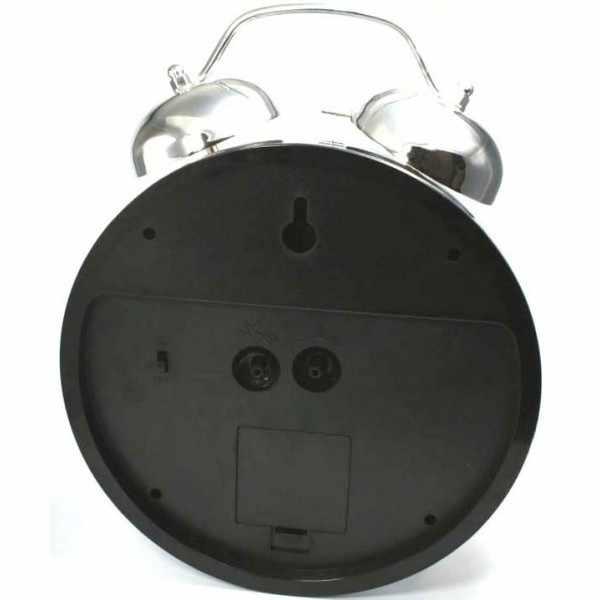 ATLANTA Glockenwecker Silent Q, lauter Alarm, Licht, XXL_6037