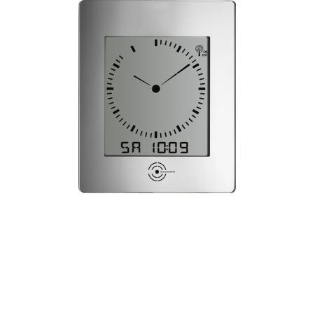 TFA, Dialog Reflex, LCD Funkwanduhr mit Raumklima