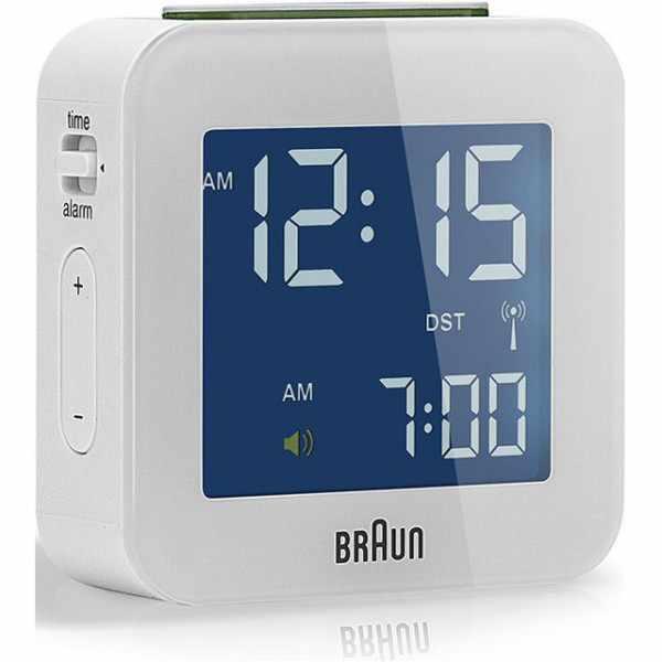 BRAUN Global LCD digital Funkwecker, klein weiss_6173