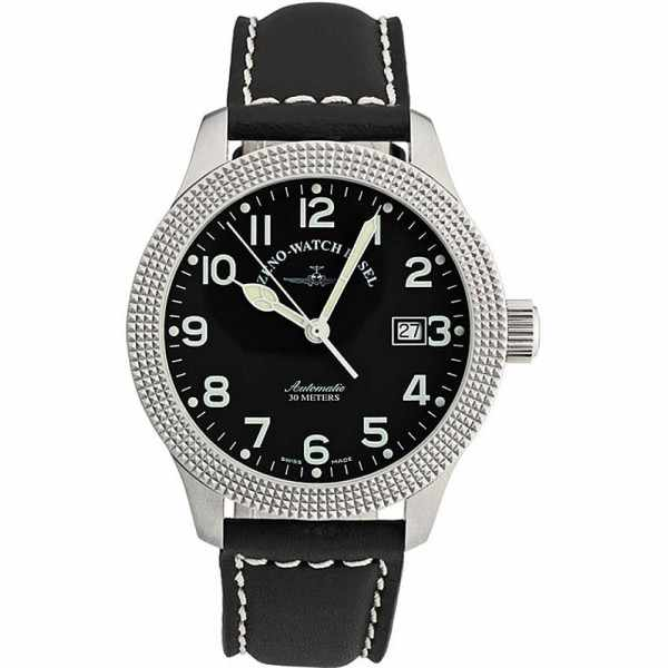 ZENO-WATCH BASEL, Pilot New Classic, Automatik Fliegeruhr, C de Paris_62