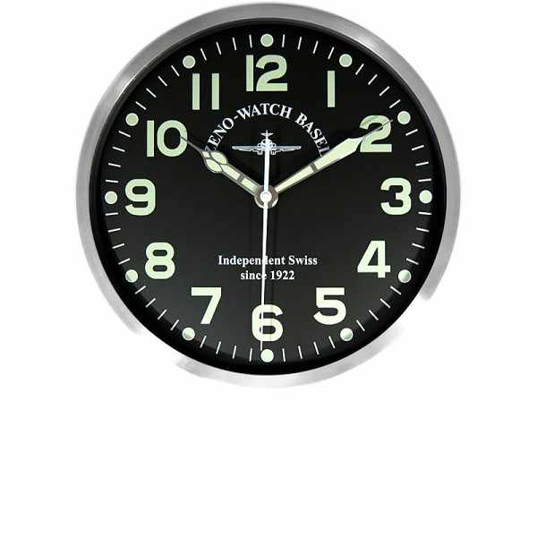 ZENO-WATCH BASEL Pilot Clock, XL Flieger Wanduhr, Sweep Silent Quartz_6244