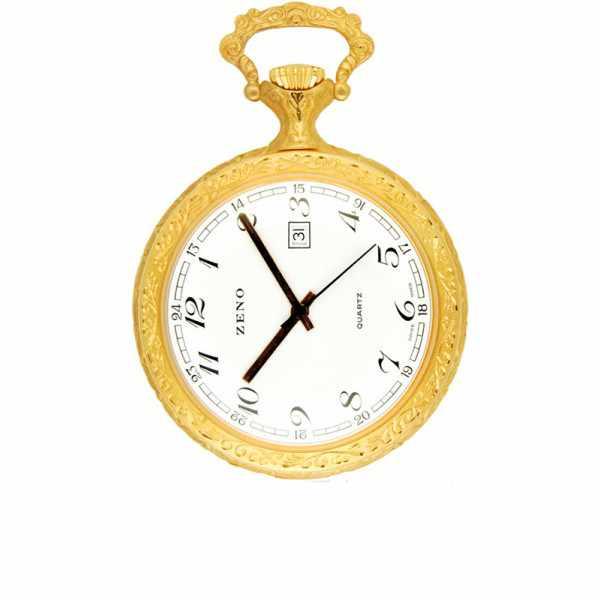 Vintage Taschenuhr Quartz, Versailles gold_6289