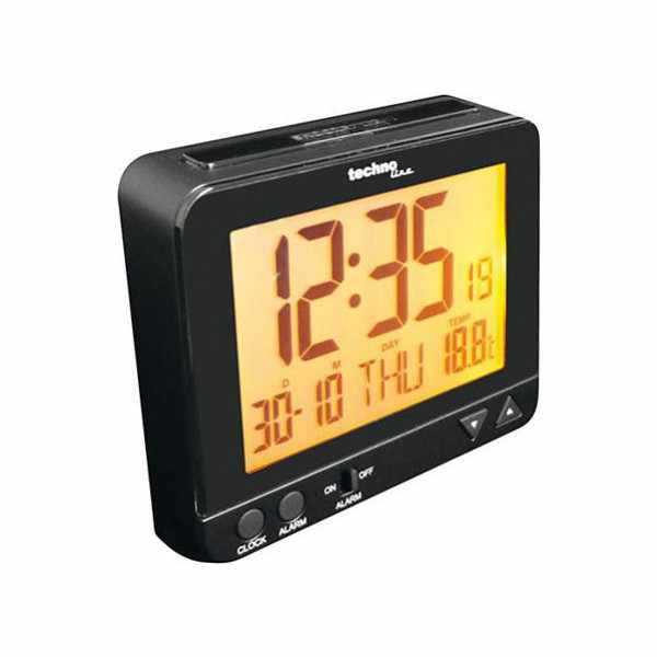 TECHNOLINE, Night Light, LCD Wecker, Funk, Nachtlicht, Thermometer_6457