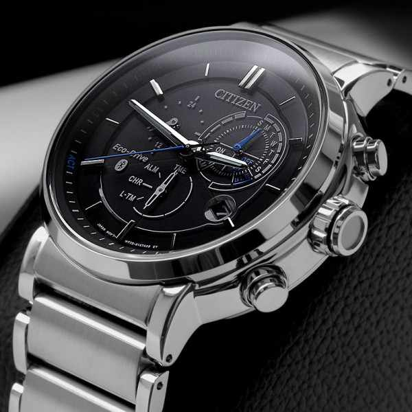 CITIZEN, Proximity Bluetooth Smartwatch, EcoDrive Solar, Edelstahl_6493
