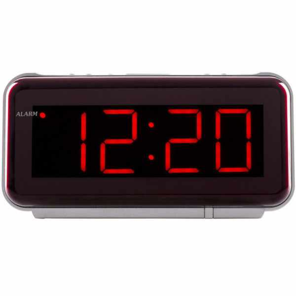 ATLANTA Red LED digital Quartz Wecker mit Kabel_67