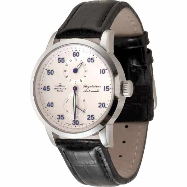 ZENO-WATCH BASEL, Godat I, Automatik Regulator, Edelstahl_6907
