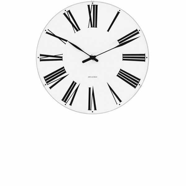 ARNE JACOBSEN Wanduhr Roman Clock 29, Silent Quartz_6942