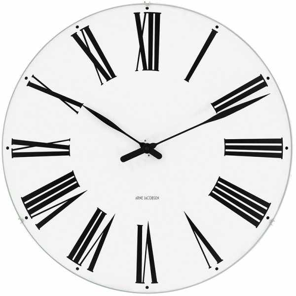 ARNE JACOBSEN Wanduhr Roman Clock 29, Silent Quartz_6943