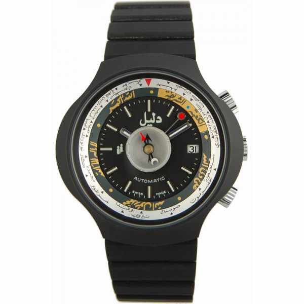 DALIL Swiss, Monte Carlo 2, Kompassuhr, Automatik, schwarz_7208