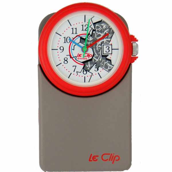 LE CLIP Klippuhr, Art Backswing_7258