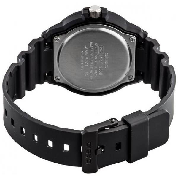 CASIO Analog Monster Sport, Tag+Datum Quartzuhr, schwarz-blau_7290