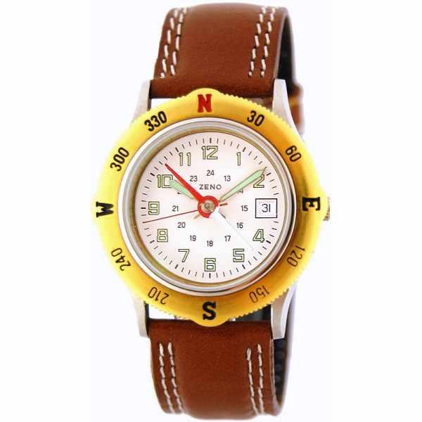 ZENO, Boussole, Kompass Quartzuhr_7321