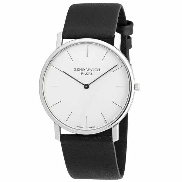 ZENO-WATCH BASEL, Bauhaus XL, Quartzuhr silber_7967