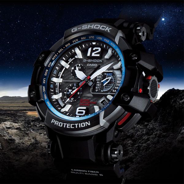 G-SHOCK, Gravitymaster GPS Solar Funkuhr, Kompass-Alti-Baro-Thermo_8091