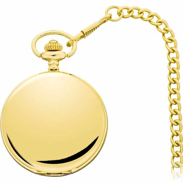 Klassik Taschenuhr Handaufzug, Numbers gold_8277