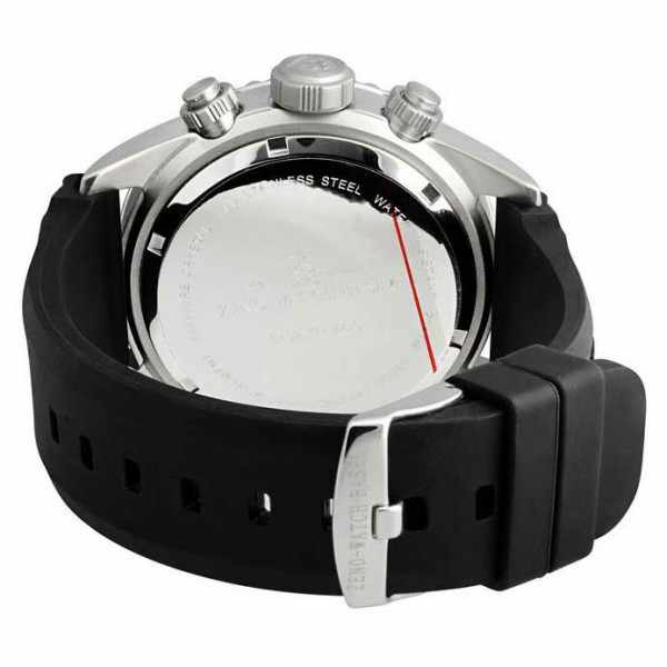 ZENO-WATCH BASEL, Diver Ceramic Chrono Quartz, Stahl schwarz/grün_845