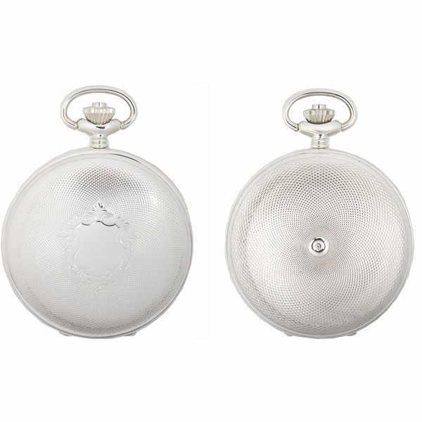 Klassik, Taschenuhr, Handaufzug, Silber Numbers_867
