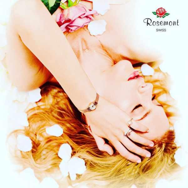 ROSEMONT, Hybrid Tea Rose, Quartz Damenuhr Zirkonias_8716