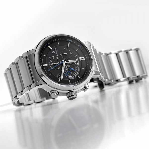 CITIZEN Bluetooth Proximity Smartwatch, EcoDrive Solar, Edelstahl_8816