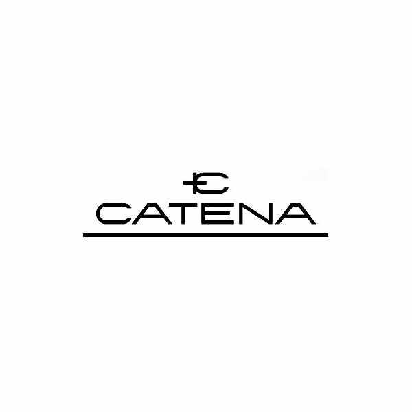 CATENA, Othello Flatline, Quartzuhr bicolor, schwarz_8837