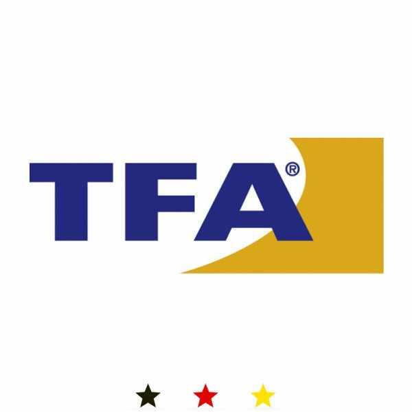 TFA Design, Funkwanduhr, Sweep Silent, schwarz_8928