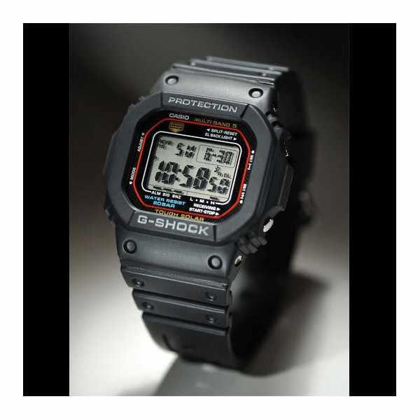 G-SHOCK, Retro, Toughtimer, LCD, Solar Funkuhr, schwarz_8971