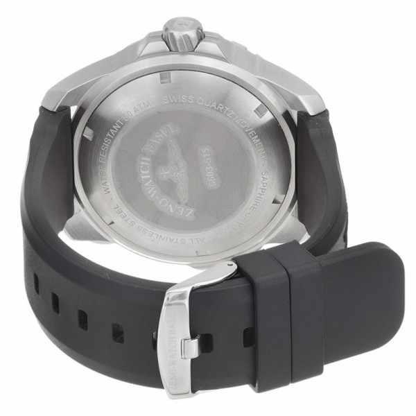 ZENO-WATCH BASEL, Pro Diver II, XL Quartz Taucheruhr schwarz-gelb_899