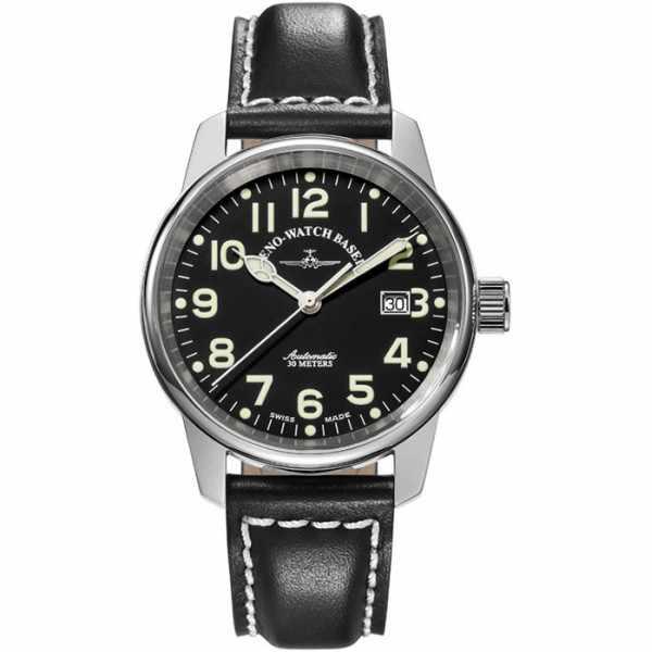 ZENO-WATCH BASEL, Pilot Classic, Automatik Fliegeruhr_9374