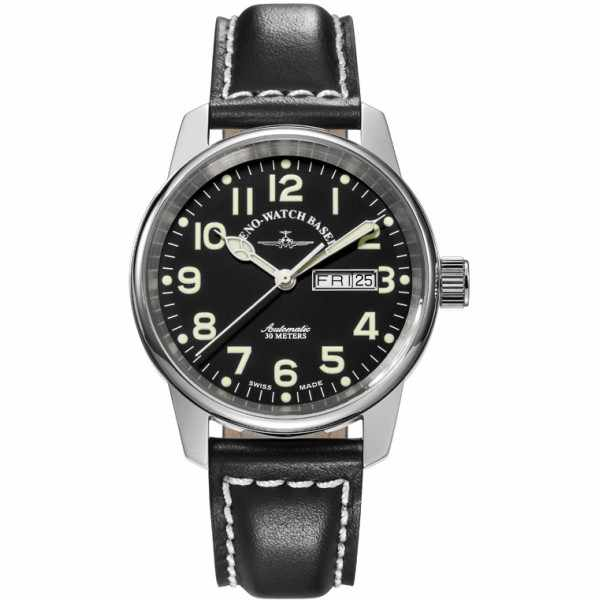 ZENO-WATCH BASEL, Pilot Classic, Automatik Fliegeruhr DD_9395