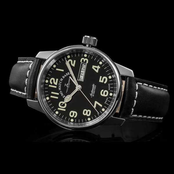 ZENO-WATCH BASEL, Pilot Classic, Automatik Fliegeruhr DD_9398