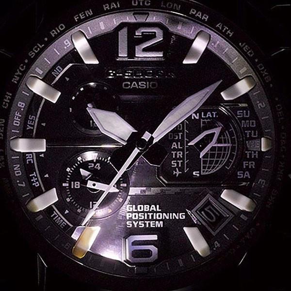 G-SHOCK, Gravitymaster GPS Solar Funkuhr, Kompass-Alti-Baro-Thermo_9580