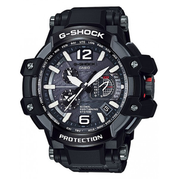 G-SHOCK, Gravitymaster GPS Solar Funkuhr, Kompass-Alti-Baro-Thermo_9581