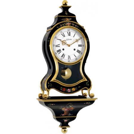 LE CASTEL, Neuenburger Pendule, Marie-Antoinette, 68cm, schwarz