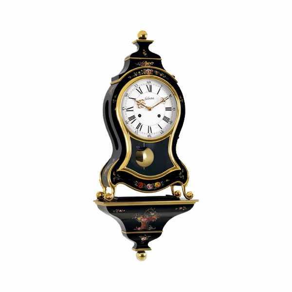 LE CASTEL, Neuenburger Pendule, Marie-Antoinette, 68cm, schwarz_9598