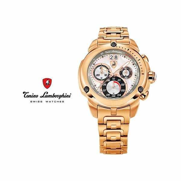 LAMBORGHINI Chronograph, rosé vergoldet_9796