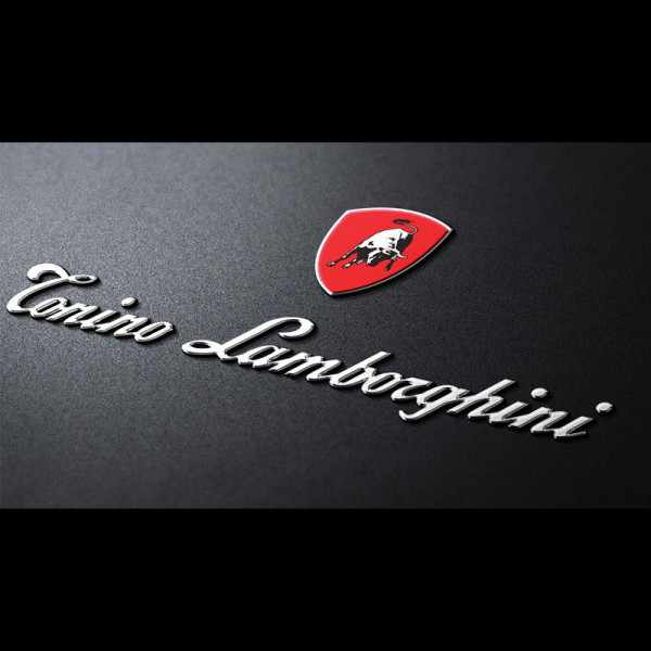 LAMBORGHINI Chronograph, Edelstahl rosé vergoldet_9797