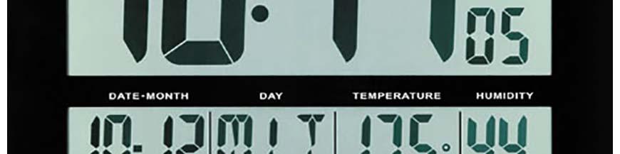 Horloges murales numériques LCD